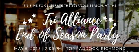 Tri Alliance End of Season Presentation Night 2018