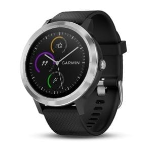 vívoactive® 3, Black with Silver Hardware