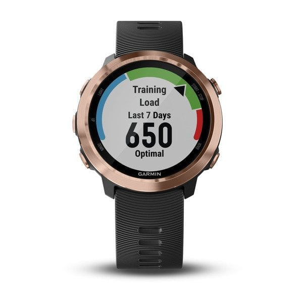Forerunner® 645 Music Black with Rose-gold HardwareForerunner® 645 Music Black with Rose-gold Hardware